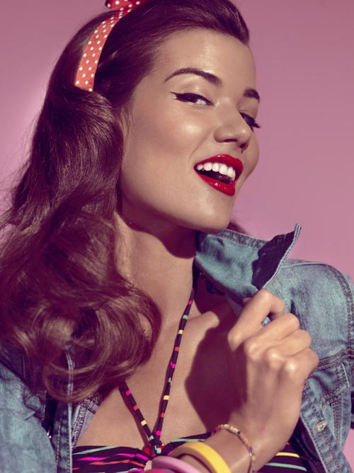 Glitz Bliss Makeup Inspiration Pin Up Girl