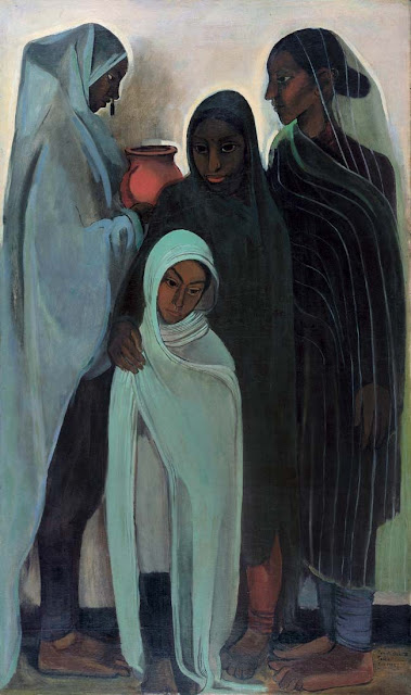 amrita sher-gil paintings