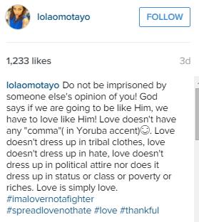 lola omotayo instagram