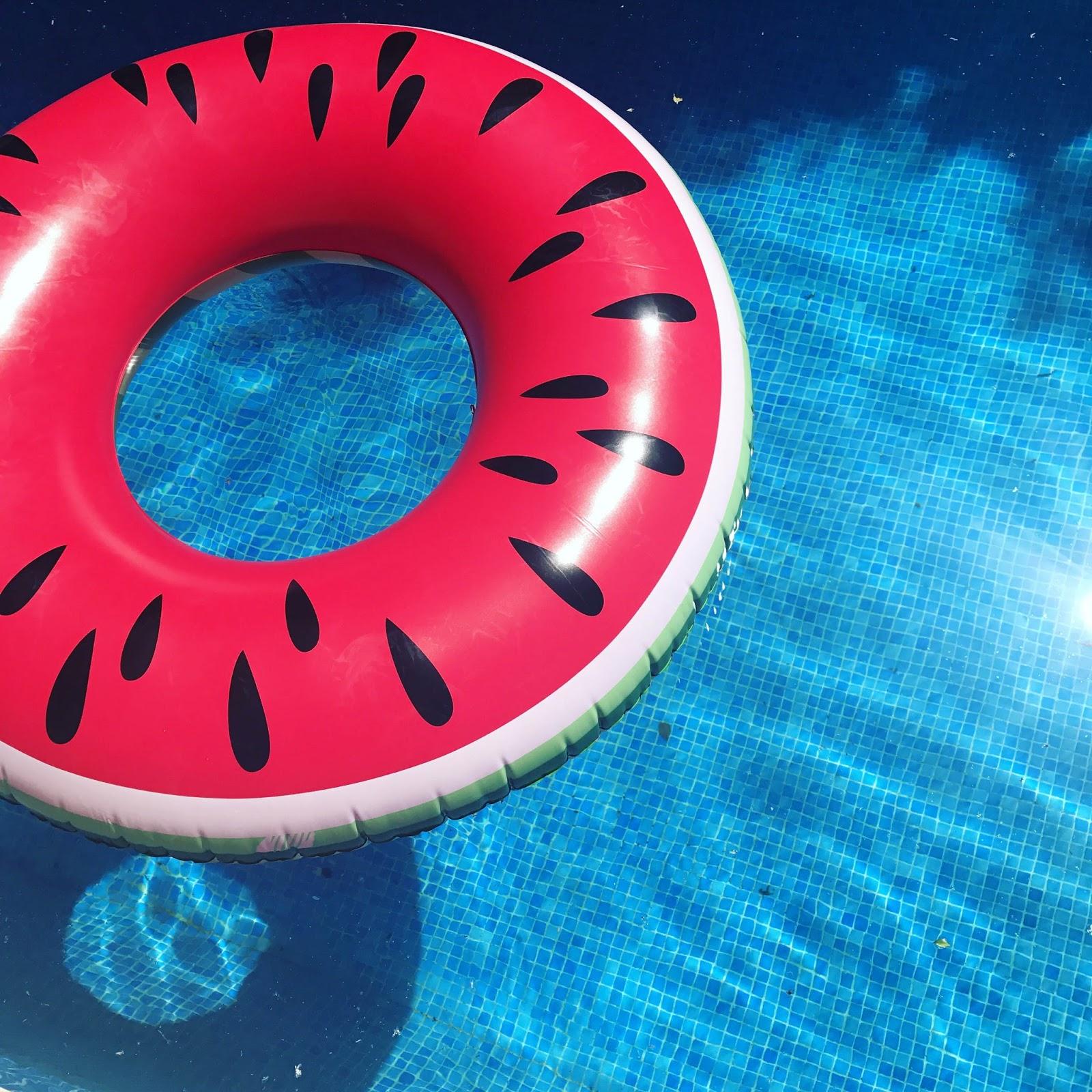 Watermelon Rubber Ring