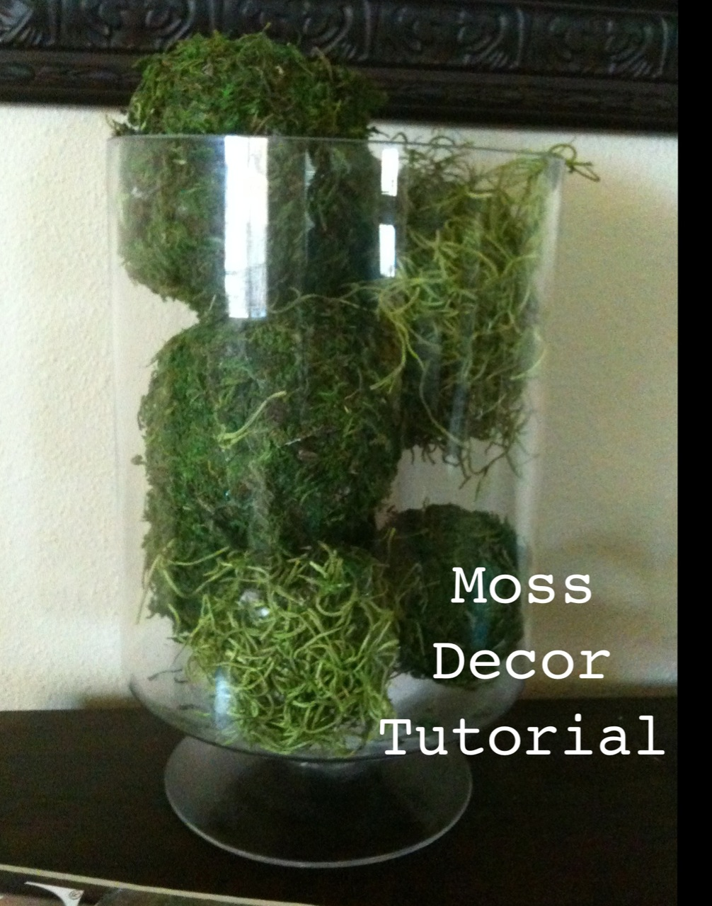 10 Ways To Decorate With Green Moss: .: Moss Decor Tutorial