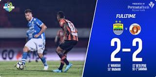 Persib Bandung vs Perseru Serui 2-2 Highlights
