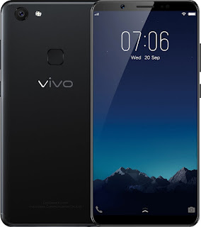 Vivo then introduced the first smartphones with 24MP front camera, the V7+