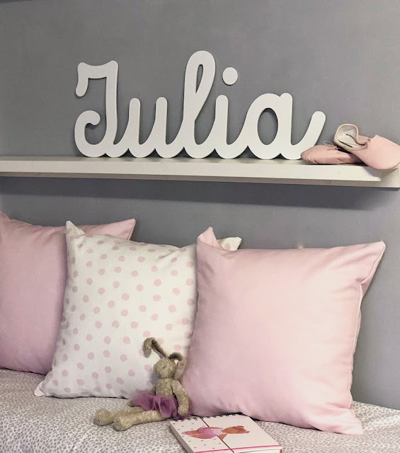 letras para decorar la pared