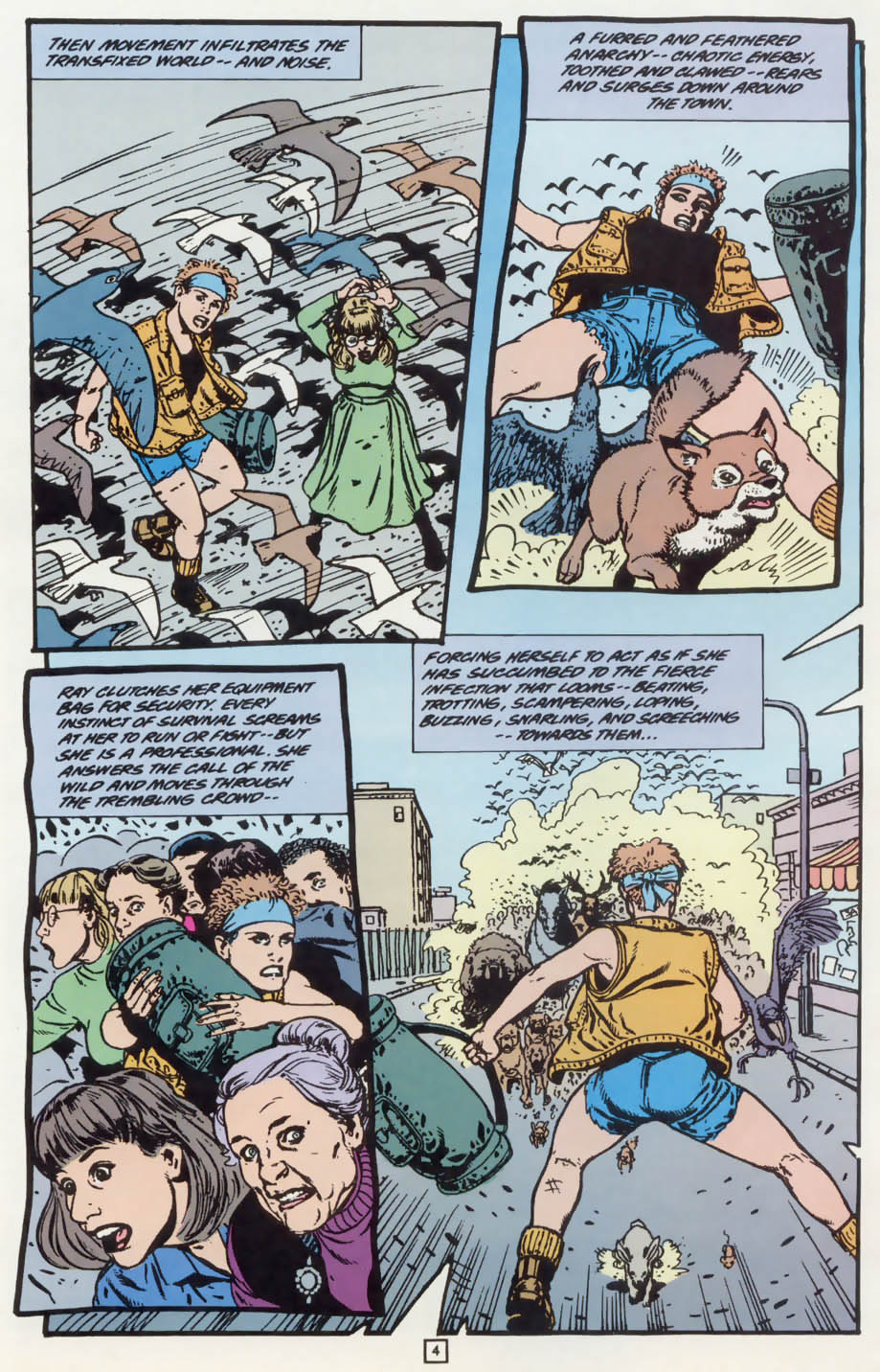 Read online Animal Man (1988) comic -  Issue #75 - 5