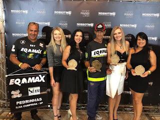 Atletas de MTB da Eqmax/ Ilha receberam premiação pelas primeiras colocações na Copa Soul 2018