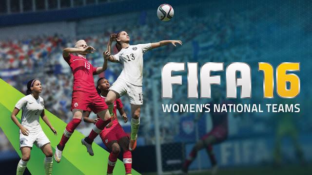 لاول مرة Fifa16 ستضم فرقا نسائية للعبة