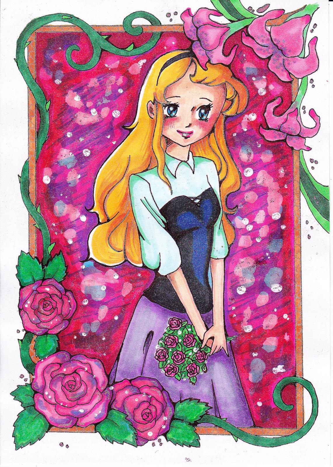 Disney Aurora Fanart