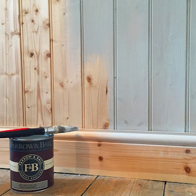 Farrow and Ball Panelling