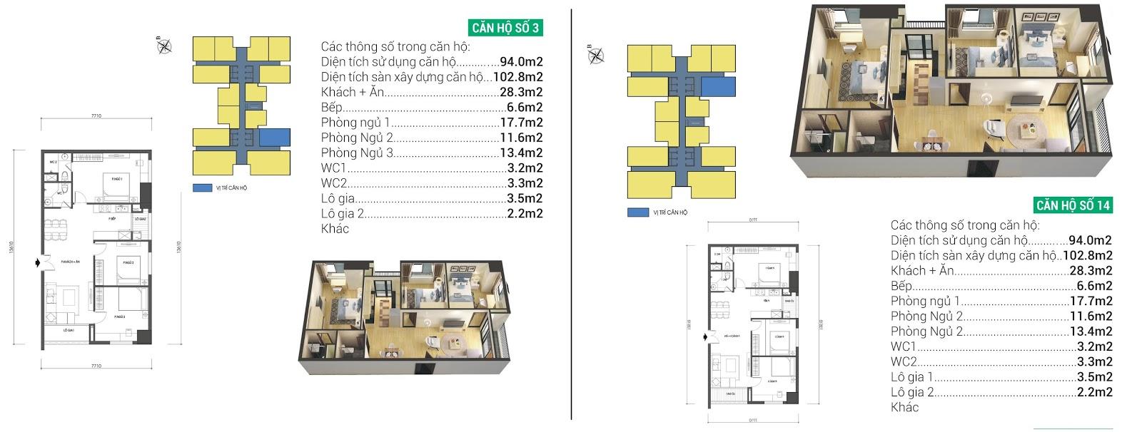thiết kế căn hộ housinco grand tower
