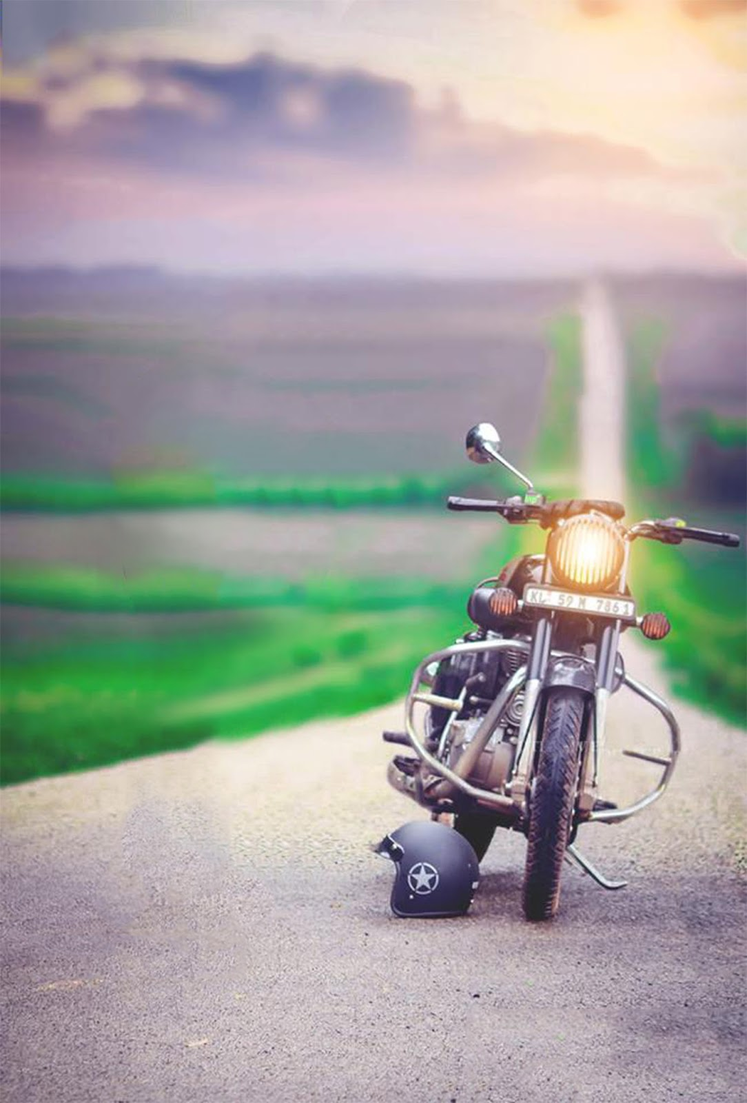 Ultimate Editing : Bike+car,background