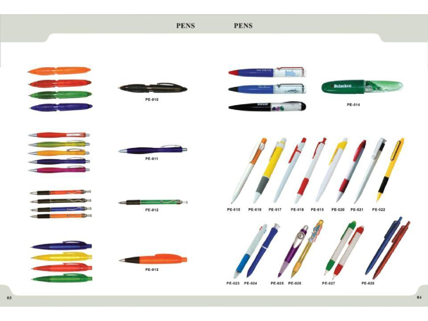 Business Gifts by Karam Advertising: Pens Catalogue