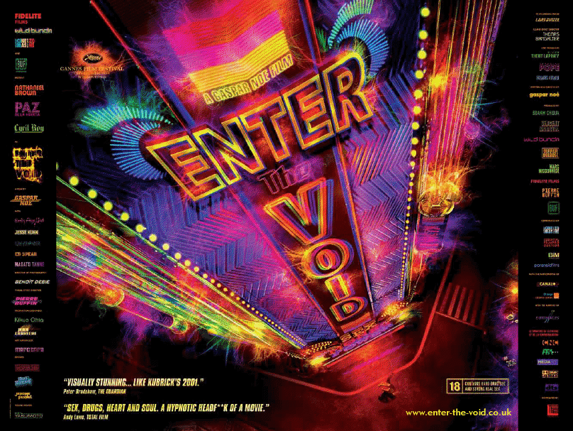 """""""Enter The Void"""", drogas e o Livro Tibetano dos Mortos"""
