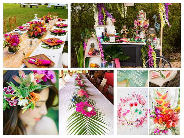 Aloha! Nowy, tropikalny, soczysty wzór zaproszeń ślubnych.