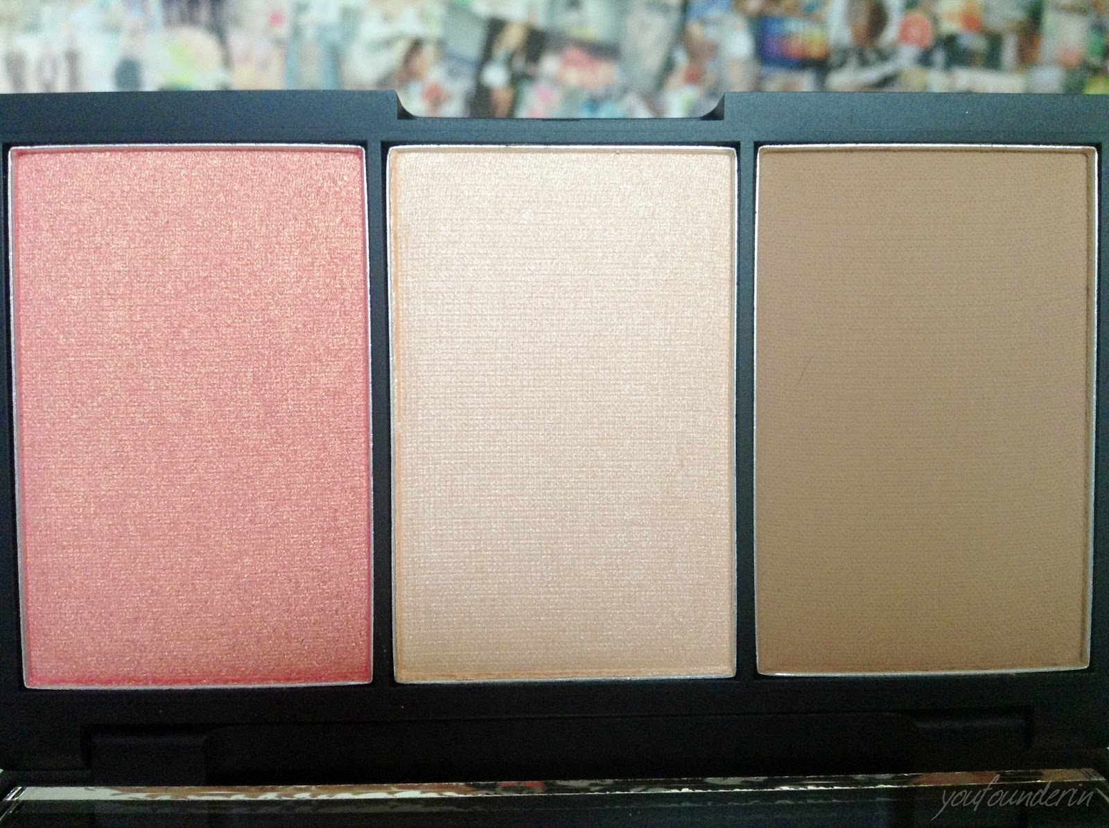 sleek face form palette close up review