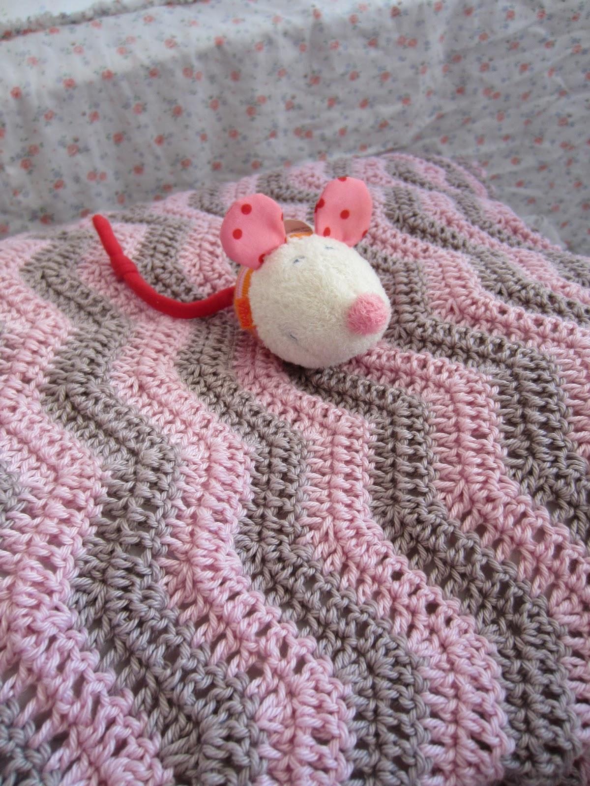 Rosenstern: Babydecke für den Mini-Stern