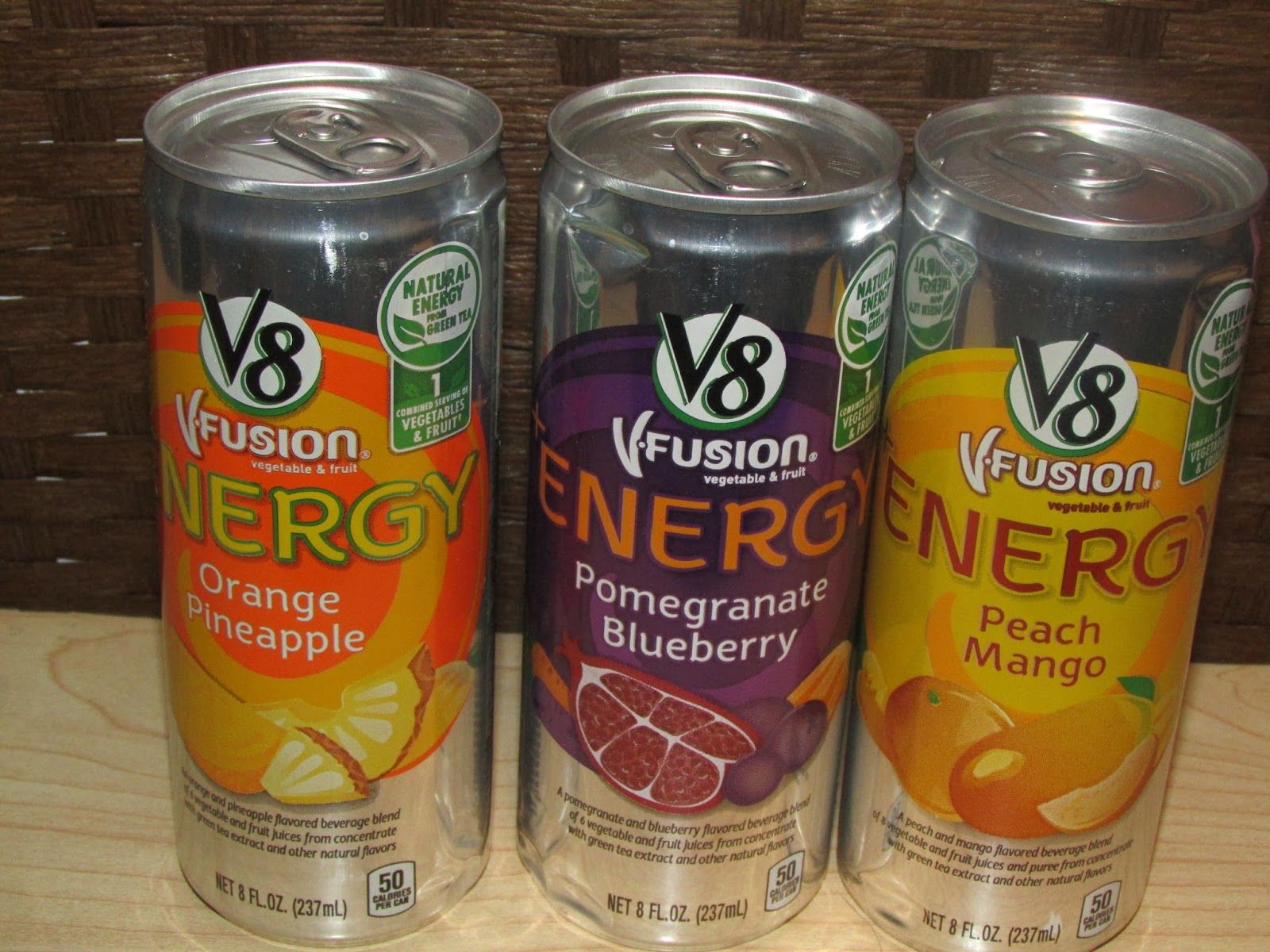 V8 Energy Review >> Heck Of A Bunch V8 Energy Energy Drink Review And Giveaway
