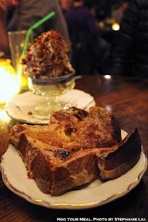 Toasted Brioche with Condensed Milk at Uncle Boons