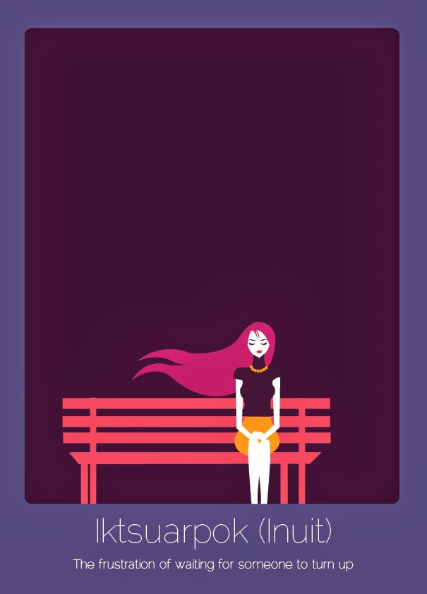Untranslatable Words From Foreign Languages Illustrated By Anjana Iyer 16