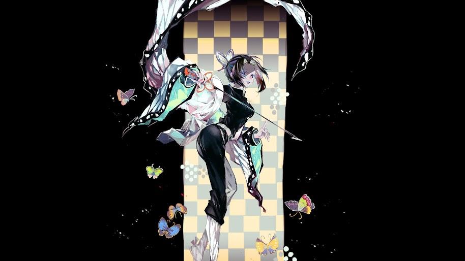 Shinobu Kochou Kimetsu No Yaiba 4k Wallpaper 14