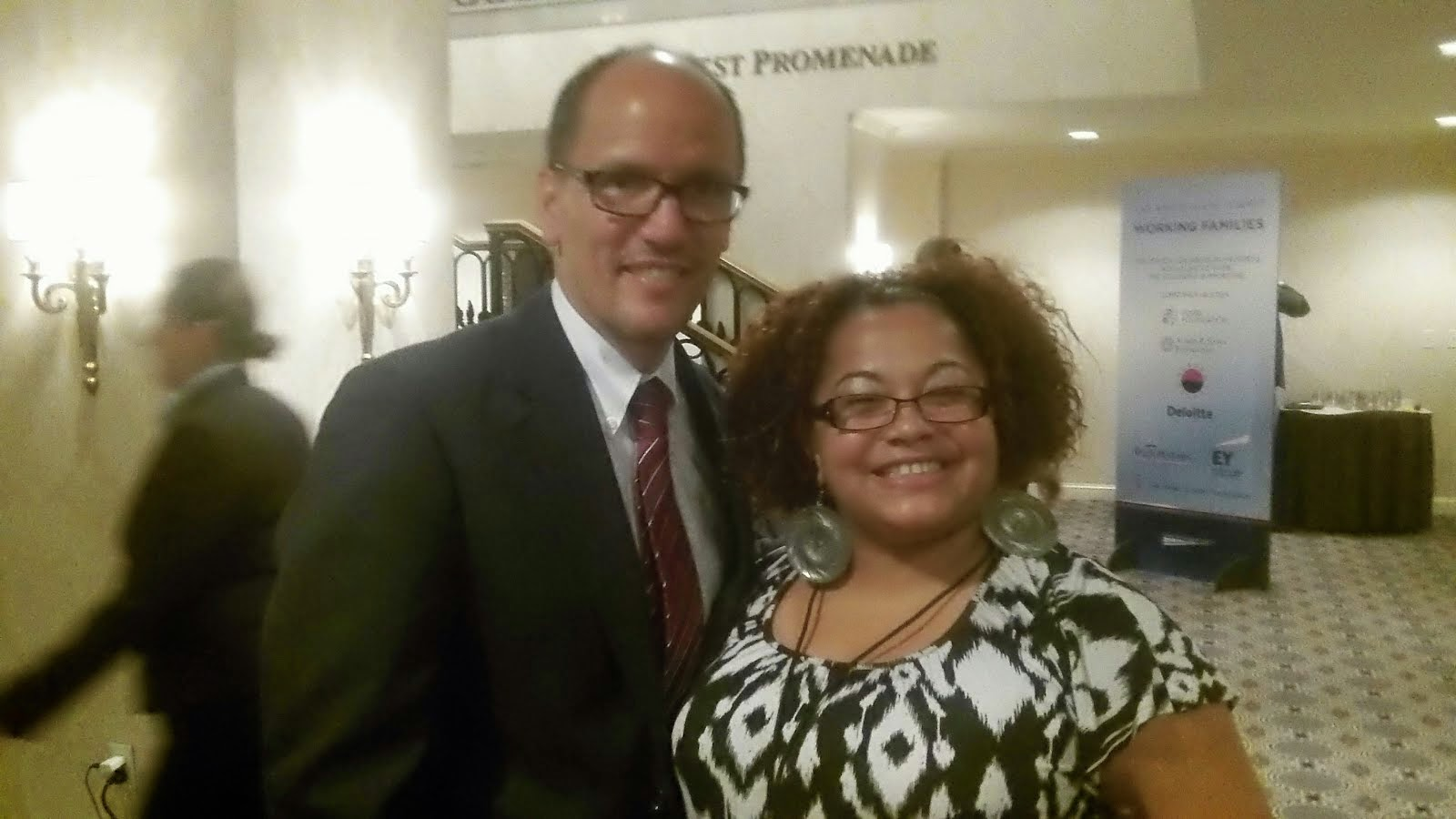 Brava & The Secretary of Labor Thomas Perez