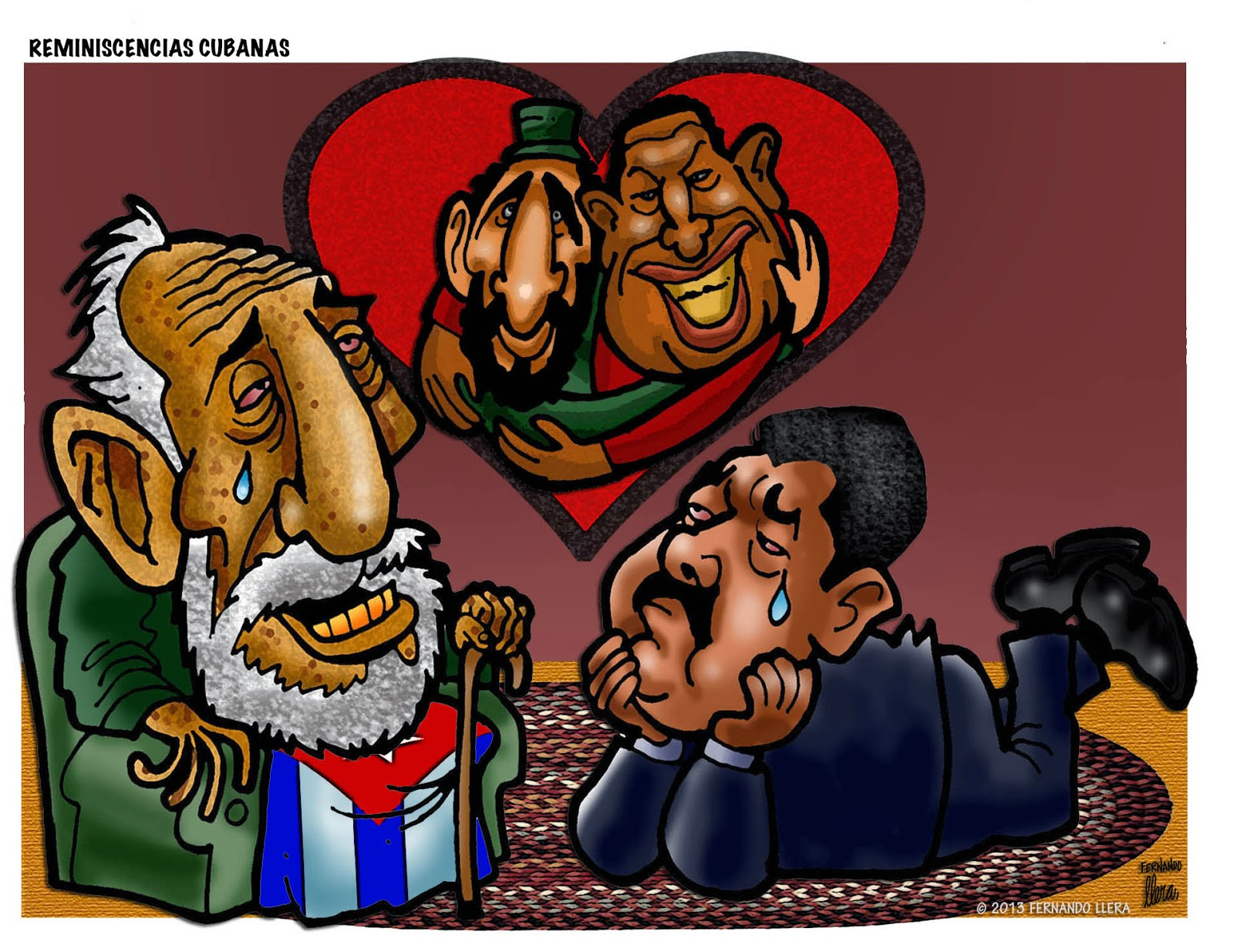 Image result for hugo chavez cartoon