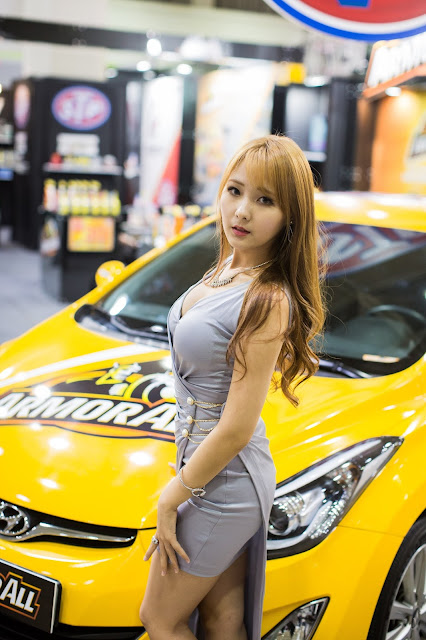 4 Park Ji Eun - Seoul Auto Salon - very cute asian girl-girlcute4u.blogspot.com