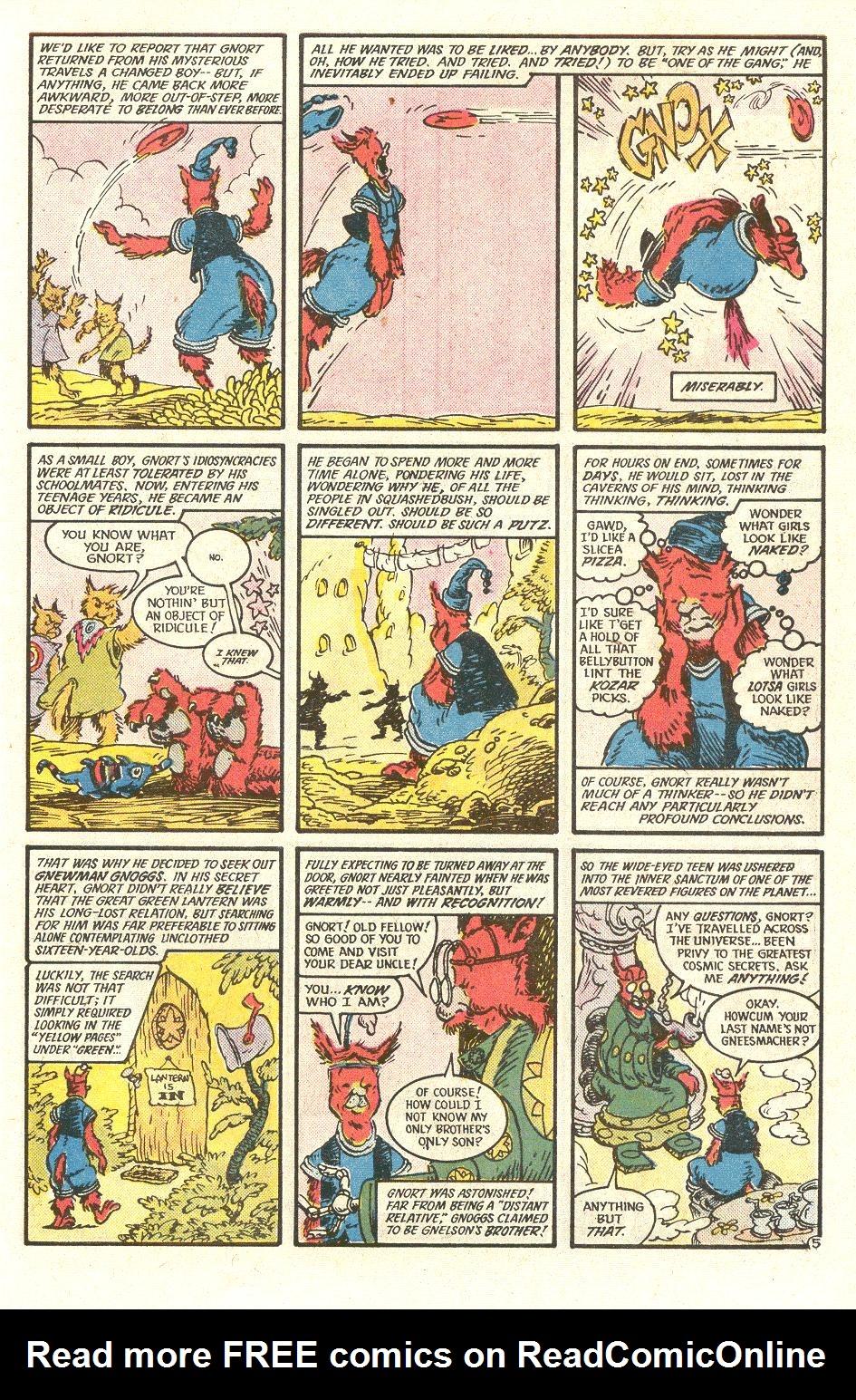 Read online Secret Origins (1986) comic -  Issue #34 - 41