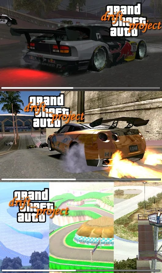 GTA SA ANDROID DRIFT PROJECT MOD PACK DOWNLOAD gtaam k idham