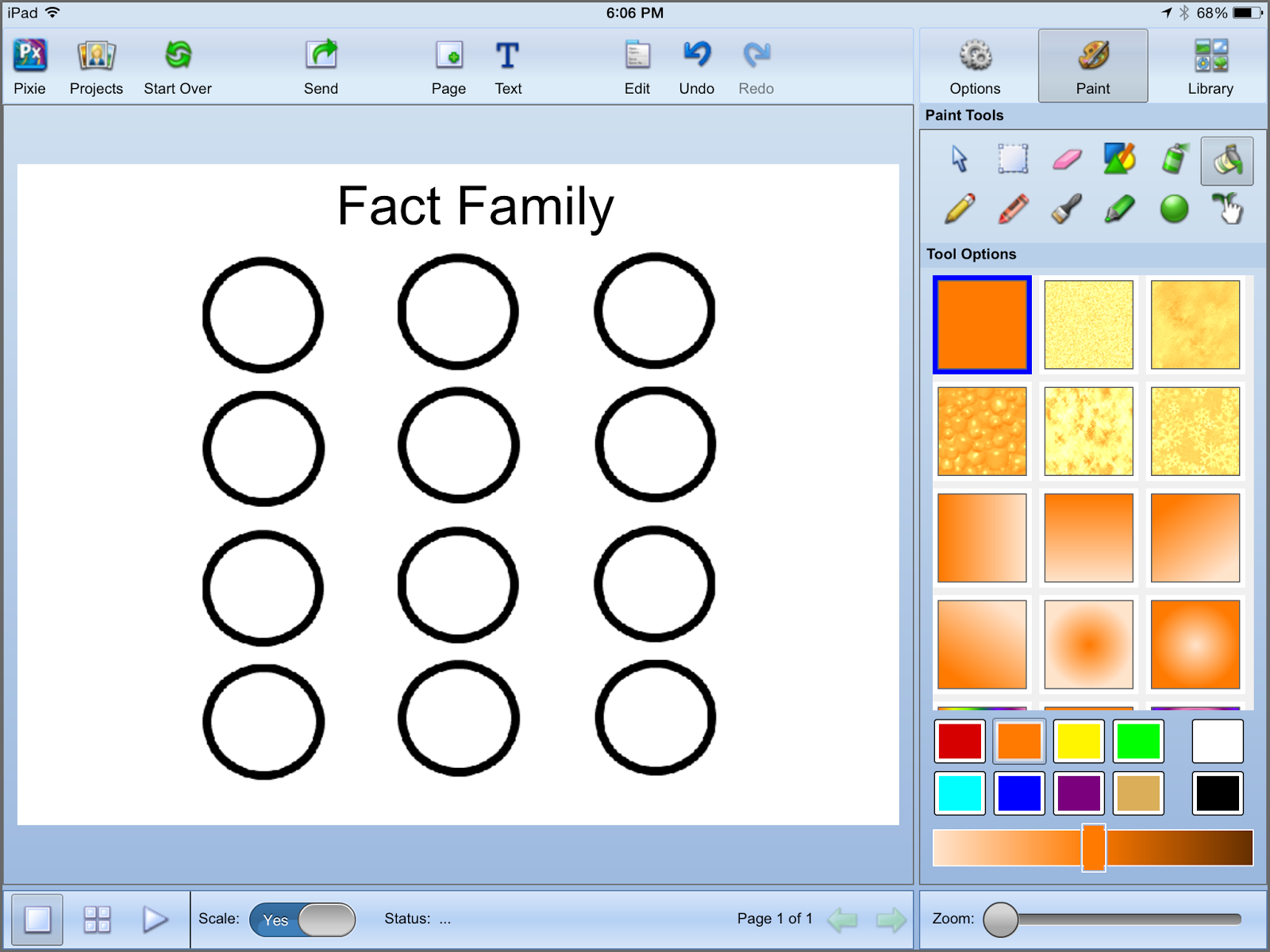 Mrs T S First Grade Class Fact Families With Color