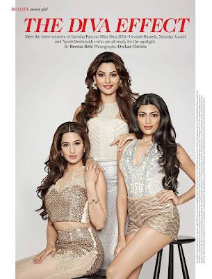 Urvashi Rautela, Natasha Assadi and Naveli Deshmukh