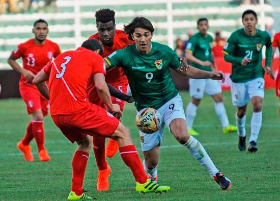 Selección de Bolivia ya sabe cuándo jugará contra Chile y Perú