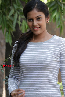 Tamil Actress Chandini Tamilarasan Latest Pos in Ripped Jeansat Ennodu Vilayadu Press Meet  0003.jpg