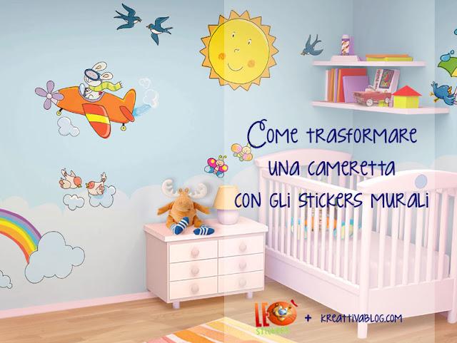 Adesivi per pareti camerette decorazioni pareti stickers with adesivi per pareti camerette - Adesivi per cameretta bambini ...