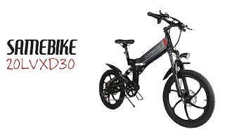 Opinión Bicicleta SAMEBIKE 20LVXD30