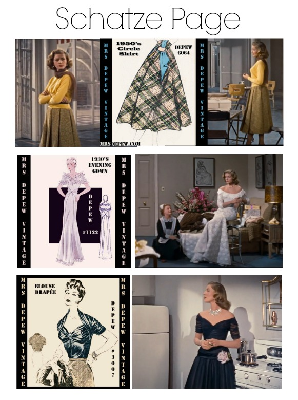 how to marry a millionaire schatze page lauren bacall costumes sewing patterns from mrs depew vintage
