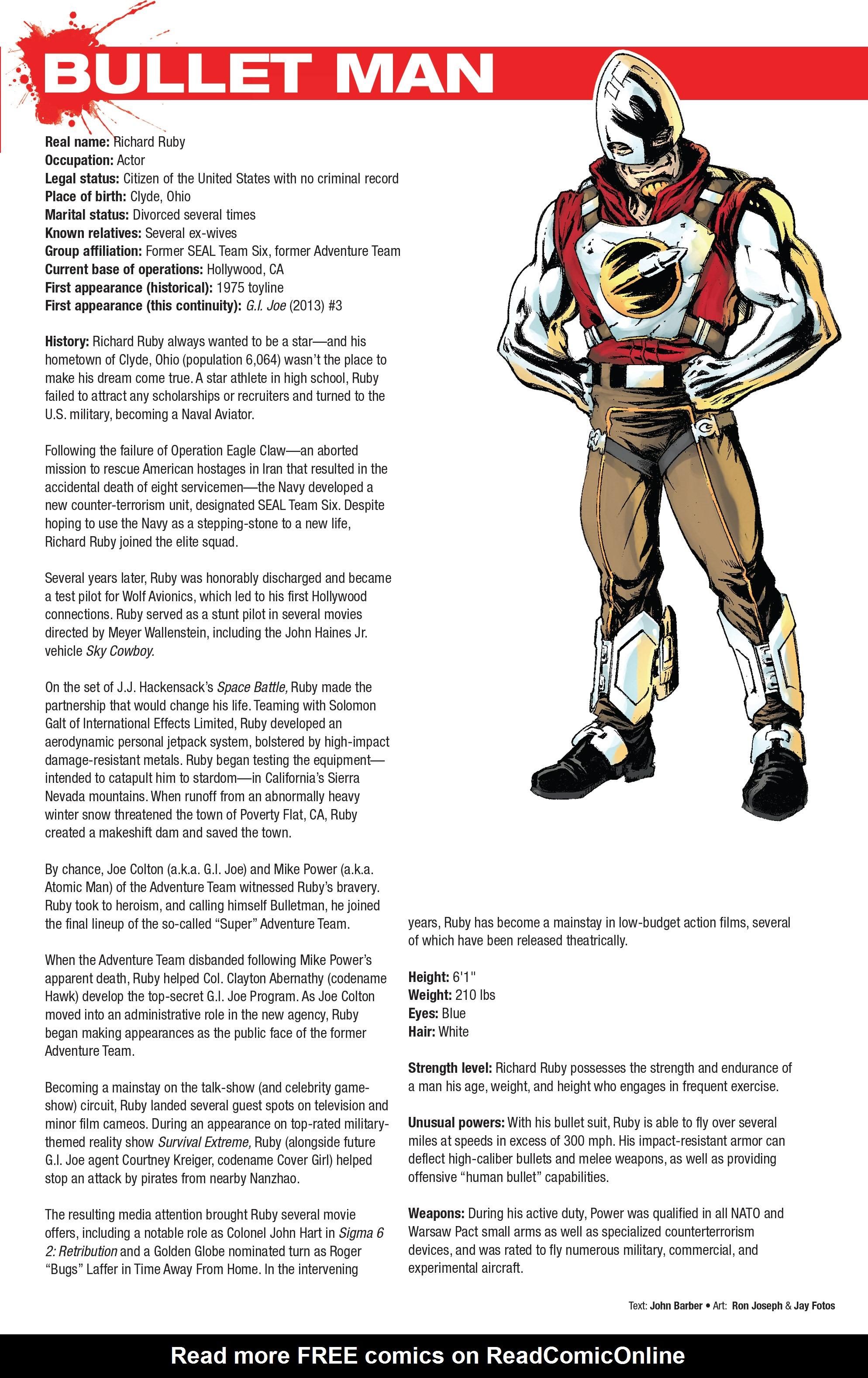 Read online Hasbro Heroes Sourcebook comic -  Issue #1 - 26