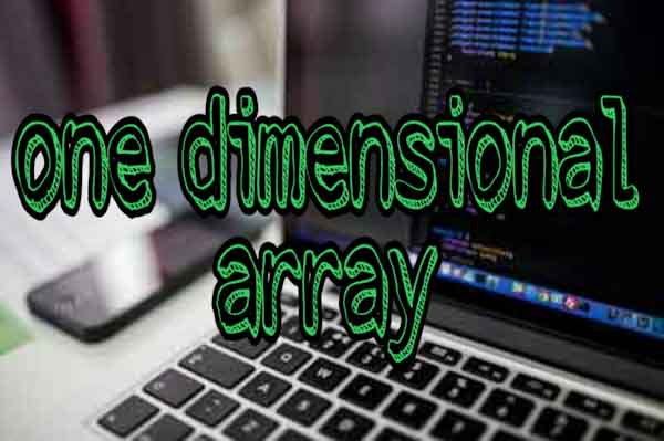 one dimensional array in c++ programming, learn c++ programming