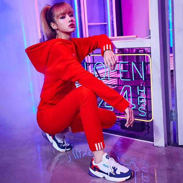 Lisa Ver — Adidas Korea New Falcon Campaign Lisa Blackpink