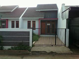 Rumah Baru Dijual Full Renov Pinggir Jalan Dekat Griya Asri Tambun Selatan Bekasi