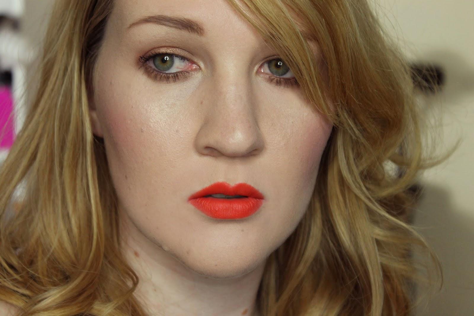 Etude House Vivid Pop Stick #7 California Girl Swatches & Review