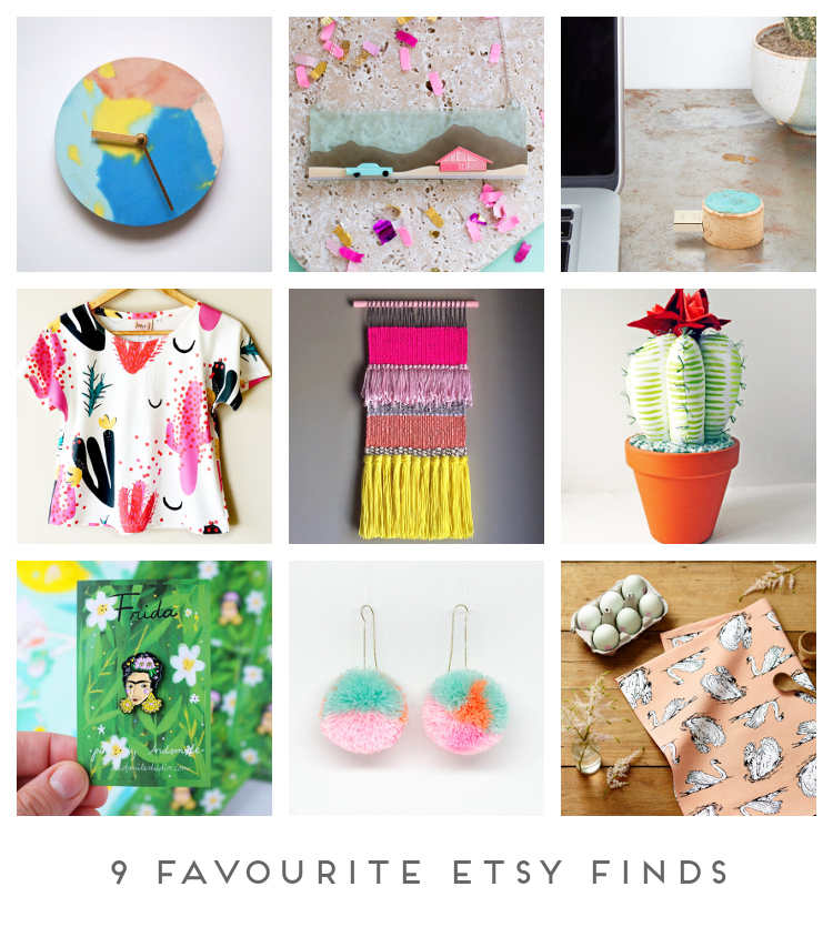 9 FAVOURITE ETSY FINDS.