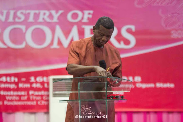 Pastor E.A. Adeboye During Feast of Esther 2018 - 'The Ministry of Overcomers' #FeastofEsther2018