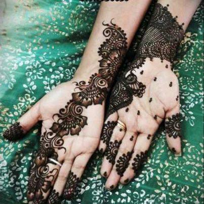 Elegant Mehndi Designs for Bridesmaid  Mayoon Frills