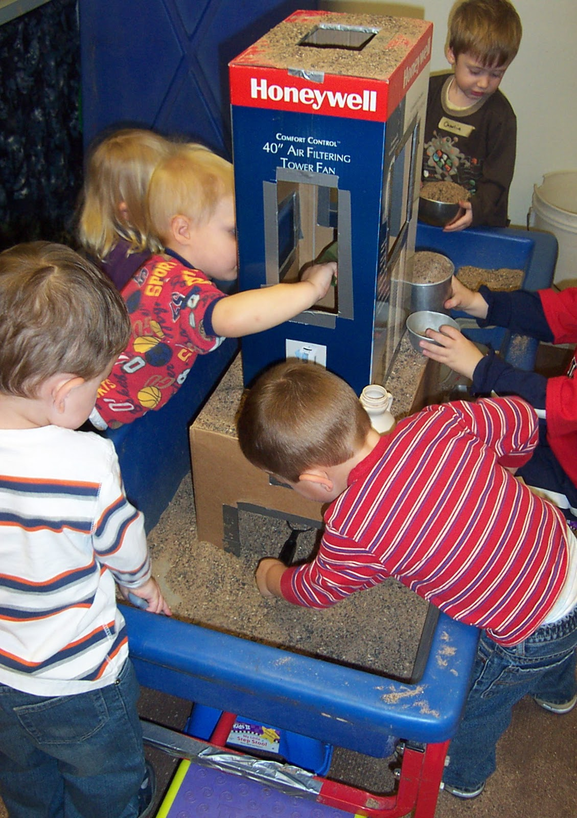 My First Room Toddler 3 Piece Room In A Box: SAND AND WATER TABLES: SELF-REGULATION AT THE SENSORY TABLE