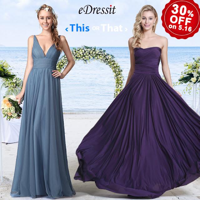 convertible purple evening dress bridesmaid dress