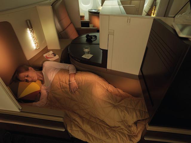 Etihad Airways runs Business Class Seat Promotion