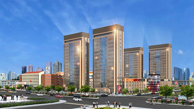 phối cảnh dự án đất nền richland city