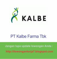Lowongan Kerja Terbaru PT Kalbe Farma