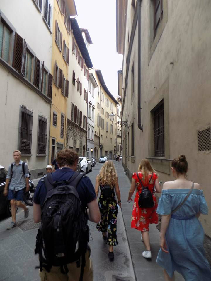 Exploring Florence, Italy